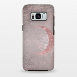 Galaxy S8 plus  Rose Gold Half Moon by