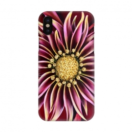 iPhone X  Pink Mum by Denise Cassidy Wood