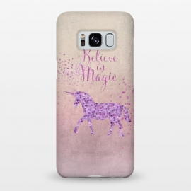 Galaxy S8+  Unicorn Believe In Magic by Andrea Haase