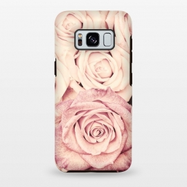 Galaxy S8+  Pink Vintage Roses by Utart