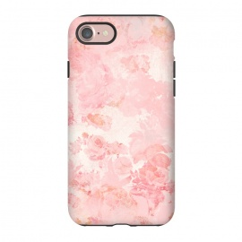 iPhone 8/7  Vintage Roses in Pink - Pattern by Utart