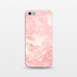 iPhone 5/5E/5s  Vintage Roses in Pink - Pattern by