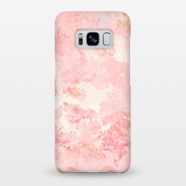 Galaxy S8+  Vintage Roses in Pink - Pattern by Utart