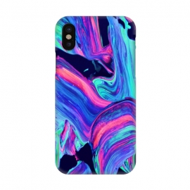 iPhone X  Neon abstract #charm by ''CVogiatzi.