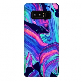 Galaxy Note 8  Neon abstract #charm by ''CVogiatzi.