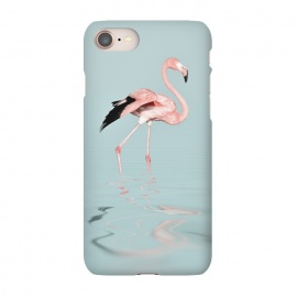 iPhone 8/7  Flamingo On Turquoise Waters by Andrea Haase