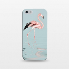iPhone 5/5E/5s  Flamingo On Turquoise Waters by Andrea Haase
