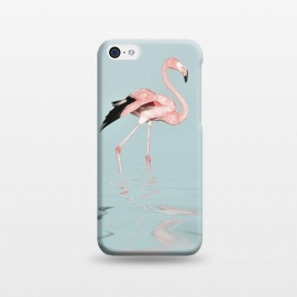 iPhone 5C  Flamingo On Turquoise Waters by Andrea Haase