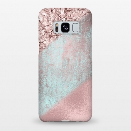 Galaxy S8+  Rose Gold Shimmering Foil  by Andrea Haase