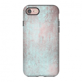 iPhone 8/7  Rose Gold And Teal by Andrea Haase