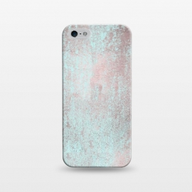 iPhone 5/5E/5s  Rose Gold And Teal by Andrea Haase