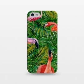 iPhone 5/5E/5s  Flamingo Jungle Party by Utart