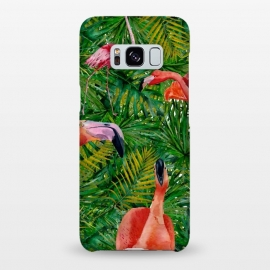 Galaxy S8+  Flamingo Jungle Party by Utart