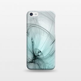 iPhone 5C  Magic Turquoise Fractal by Andrea Haase