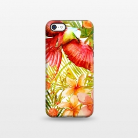 iPhone 5C  Tropical Bird in Jungle by Utart