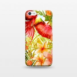 Tropical Bird in Jungle by Utart