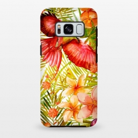 Galaxy S8+  Tropical Bird in Jungle by Utart