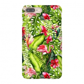 Flower Jungle and Flamingo  by Utart