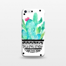 iPhone 5C  Pot Me A Cacti! Dots by Amaya Brydon