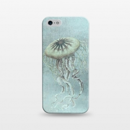 iPhone 5/5E/5s  Underwater Jellyfish by Andrea Haase