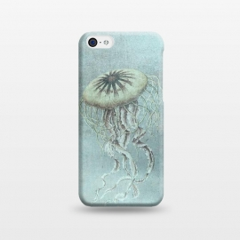 iPhone 5C  Underwater Jellyfish by Andrea Haase