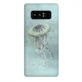 Galaxy Note 8  Underwater Jellyfish by Andrea Haase