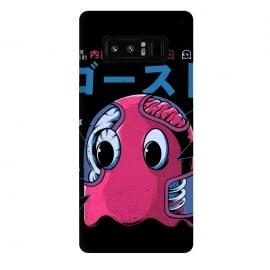 Galaxy Note 8  Ghostzilla by  (japan, japanese, manga, monster, food, kaiju, retro, vintage, pizza, king kong, NYC, city, terror, horror, cinema, movies, video games, games, godzilla, pacman, ghost, arcade, atari)