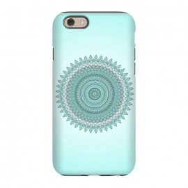 iPhone 6/6s  Magical Teal Mandala by Andrea Haase