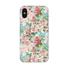 iPhone X  Retro Flower Dream by Utart