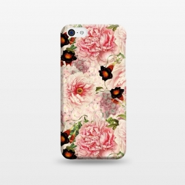 iPhone 5C  Victorian Vintage Roses by Utart
