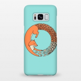 Galaxy S8+  Fox Circle by Coffee Man