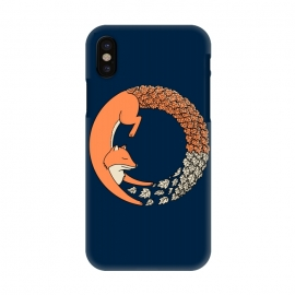 iPhone X  Fox Circle 2 by Coffee Man