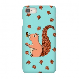 iPhone 8/7  Squirrel and Butterfly by Coffee Man