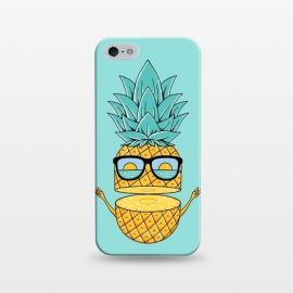 iPhone 5/5E/5s  Pineapple Sunglasses by Coffee Man (pineapple,beach,sea,marine,ocean,nature,landscape,summer,vacation,spring break,fruit,sun,sunset,fun,funny,cute,adorable,sunglasses)