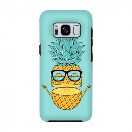 Galaxy S8  Pineapple Sunglasses by Coffee Man (pineapple,beach,sea,marine,ocean,nature,landscape,summer,vacation,spring break,fruit,sun,sunset,fun,funny,cute,adorable,sunglasses)