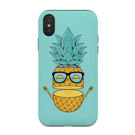 Pineapple Sunglasses by Coffee Man (pineapple,beach,sea,marine,ocean,nature,landscape,summer,vacation,spring break,fruit,sun,sunset,fun,funny,cute,adorable,sunglasses)