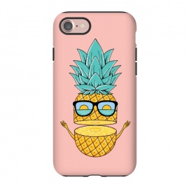 iPhone 8/7  Pineapple Sunglasses Pink by Coffee Man