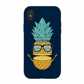 Pineapple Sunglasses Blue by Coffee Man (pineapple, sunglasses,summer,landscape,beach,ocean,marine,sea,nature,explore,adventure,fruit,fun,funny,humor,cute,adorable,sun,sunset)