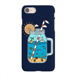 iPhone 8/7  Drink Landscape Blue by Coffee Man