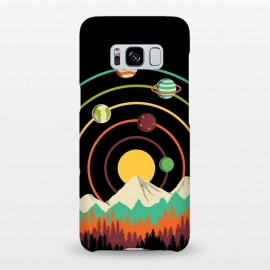 Galaxy S8+  Planets Landscape by Coffee Man