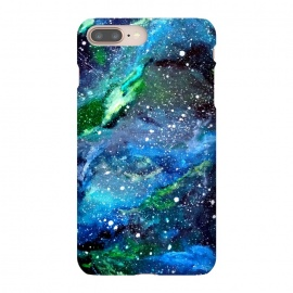 Galaxy in Blue and Green by Gringoface Designs