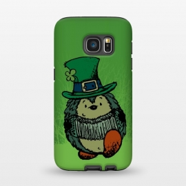 Galaxy S7  ST.PATRICK HEDGEHOG by Mangulica