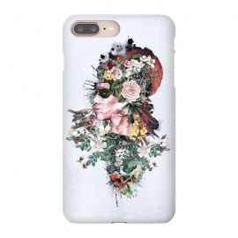 iPhone 8/7 plus  Queen of Nature by  (woman,floral,snake,skull,birds,surreal,art,fantasy)