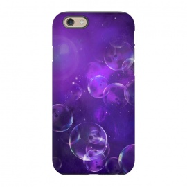 iPhone 6/6s  Surreal Purple Bubbles by Andrea Haase
