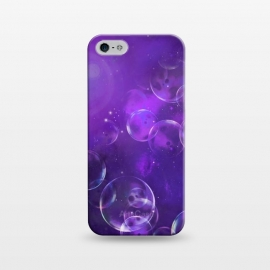 iPhone 5/5E/5s  Surreal Purple Bubbles by Andrea Haase