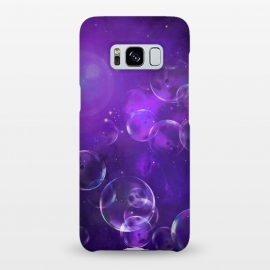 Galaxy S8+  Surreal Purple Bubbles by Andrea Haase