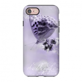 iPhone 8/7  Purple Butterfly by Andrea Haase