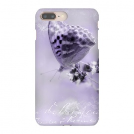iPhone 8/7 plus  Purple Butterfly by Andrea Haase