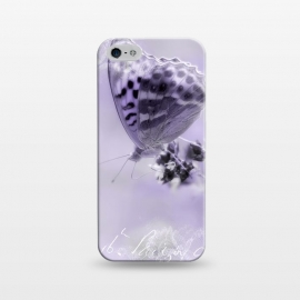 iPhone 5/5E/5s  Purple Butterfly by Andrea Haase