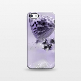 iPhone 5C  Purple Butterfly by Andrea Haase